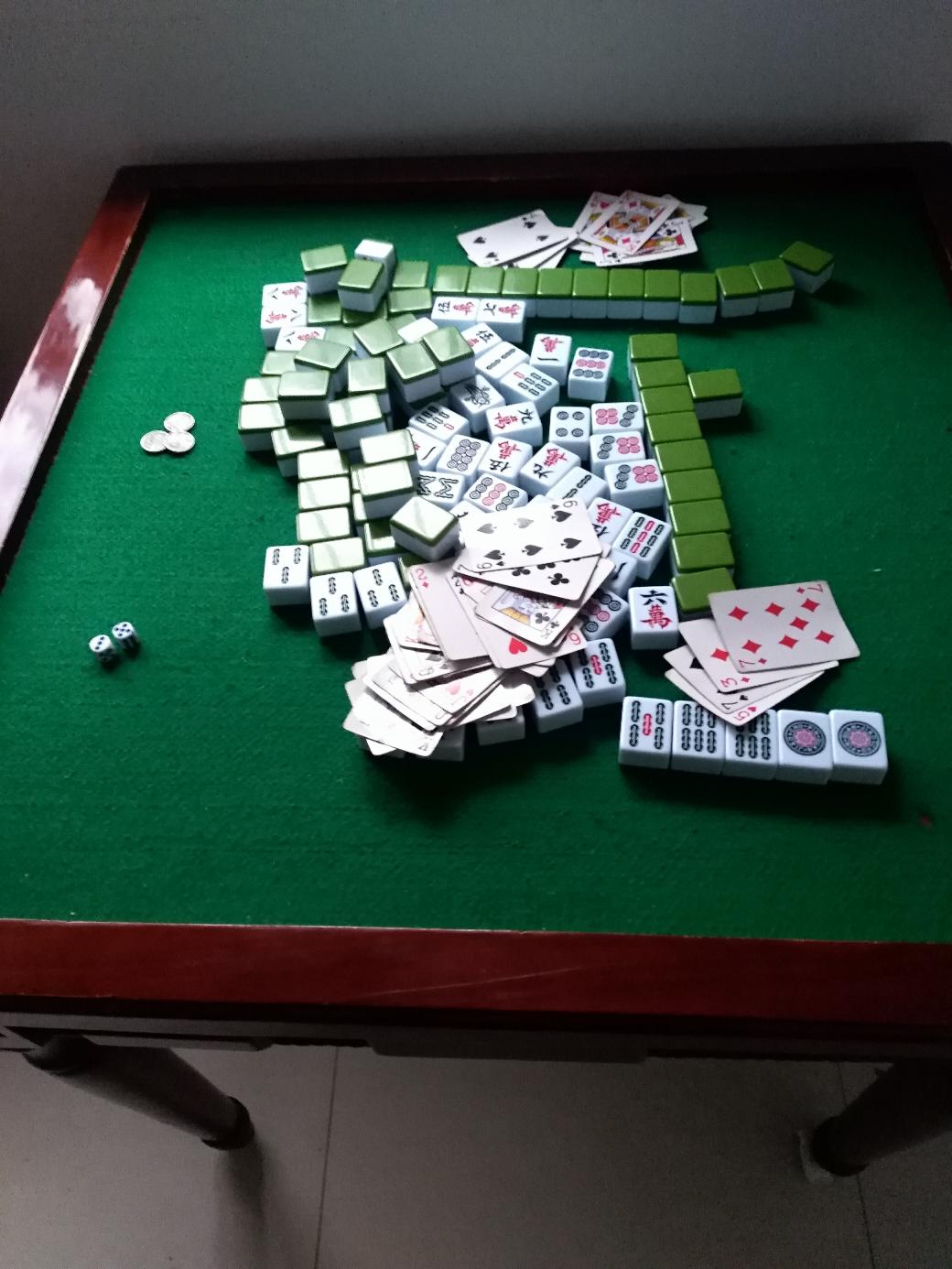 【金鼠打卡第九天】打麻将了