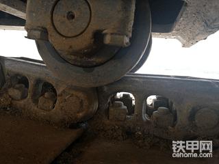 9075e承重轮漏油了!