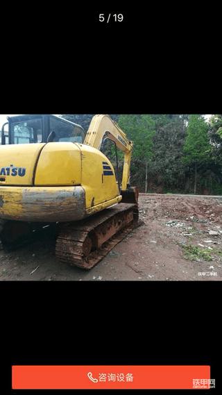 【鼠年说车】承德小伙怒提二手小松70-8挖掘机