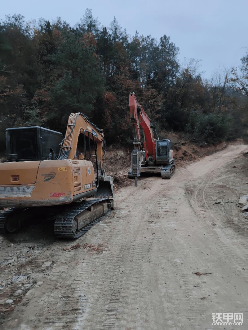 三一75C挖掘機4500小時使用報告-帖子圖片