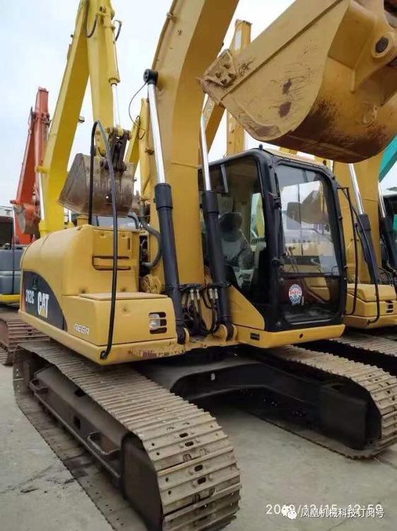 如何辨别卡特312c挖掘机是国产还是进口的?