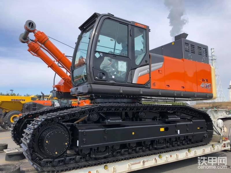 最新日立ZX490LCH-7挖掘機-帖子圖片