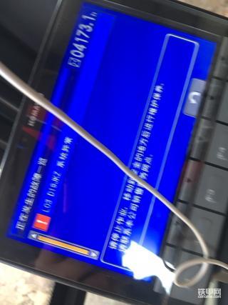 小松2008M0电路故障