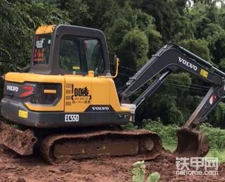 【我与爱机】沃尔沃EC55D挖掘机700小时使用感受