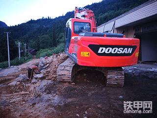 时隔两年半,斗山DX150 -9使用报告