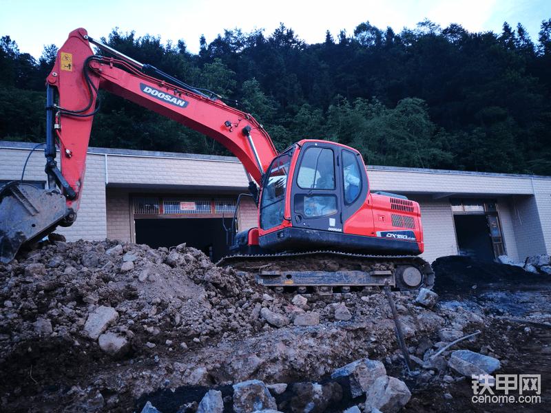 時隔兩年半,斗山DX150 -9使用報告-帖子圖片