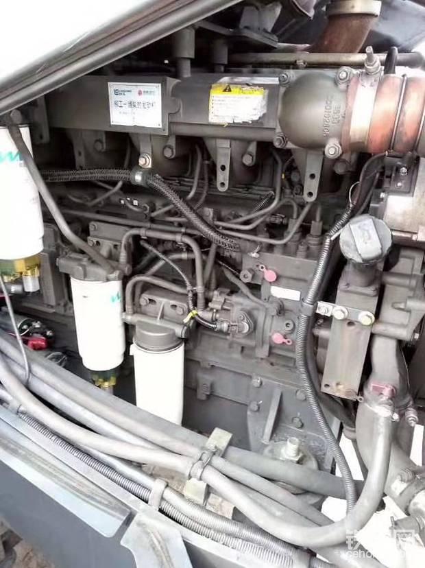 这个是850H配潍柴发动机的图片,有没有很原装的感觉???
