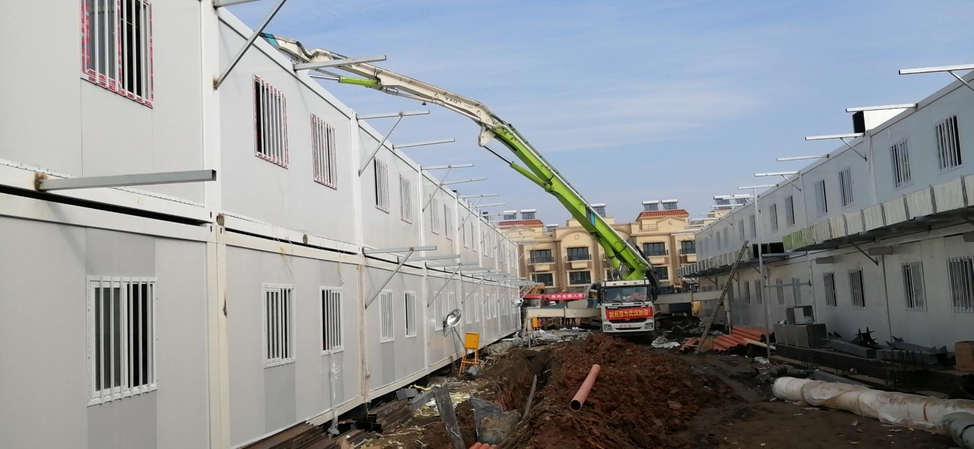 雷神山医院建设