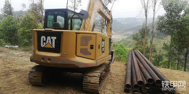 卡特307.5挖掘机868小时使用报告-帖子图片