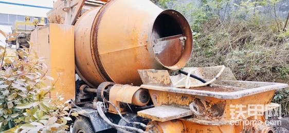 低價出售匯杰機械攪拌拖泵-帖子圖片