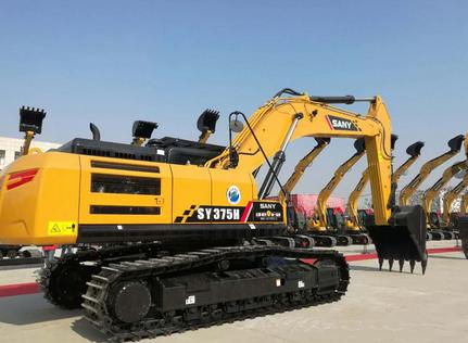 同吨位配置最高、挖掘力最大的三一SY375H!这么硬?