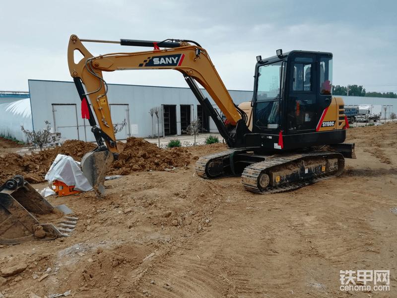 【我的好伙伴】三一SY60C挖掘机1600小时使用报告-帖子图片