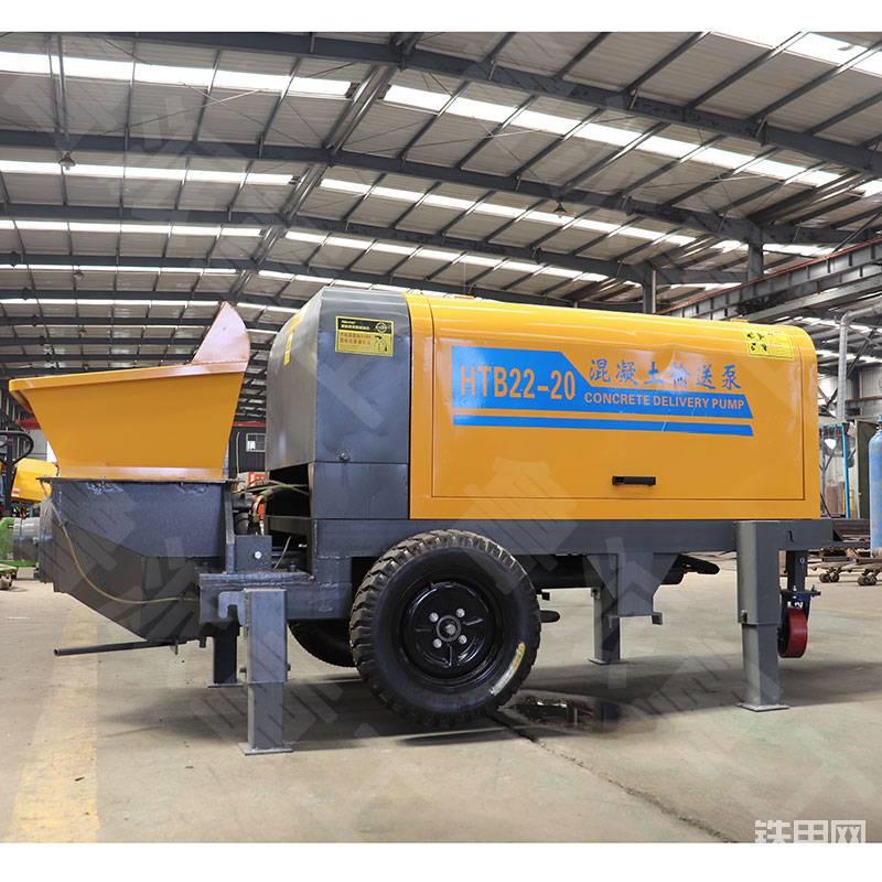 大型二次结构浇筑泵 工程建设专用大骨料颗粒输送泵-帖子图片