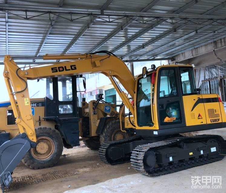 山東臨工E680F挖掘機1200小時使用報告-帖子圖片