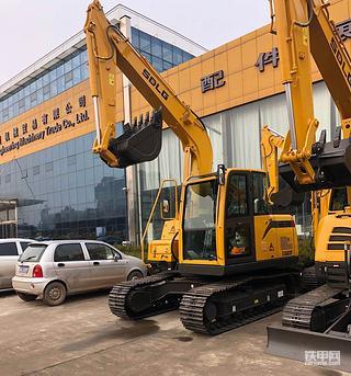 山东临工E680F挖掘机1200小时使用报告
