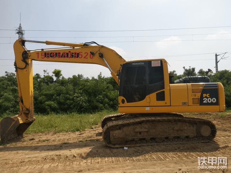【我的好伙伴】小松PC200-8mo挖机5000小时报告-帖子图片