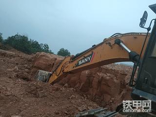 我的好伙伴三一SY485H挖掘机