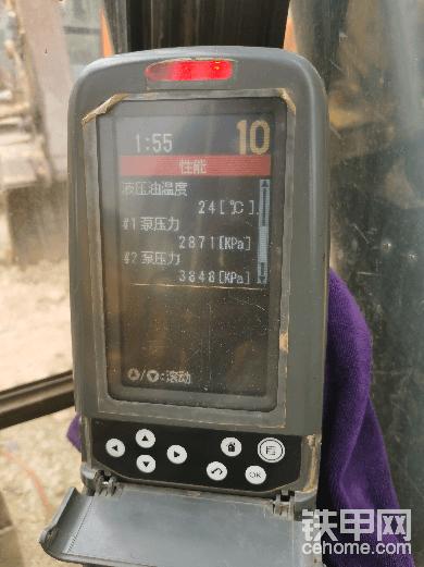 卡特315泵1和泵2压力不一样