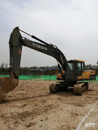 沃尔沃EC210D挖机3600小时使用报告