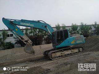 【我的好伙伴】山河智能SWE215E挖机3100小时报告