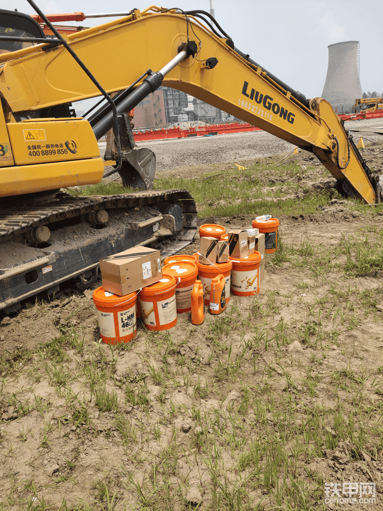 柳工920E挖掘机2000小时使用报告-帖子图片