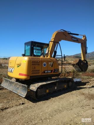 【百字说车】三一SY75C-10挖掘机使用报告