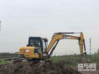 【百字说车】临工E655F挖机100小时用机感受