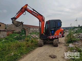 【每周评车】斗山DX55-9C挖机1980小时报告