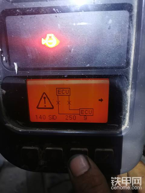 EC210改装机自动油门用不了