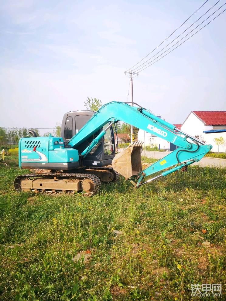 神鋼SK75-8挖掘機10100小時使用報告-帖子圖片