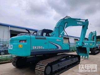 淺談挖機再制造之神鋼260-8Lc