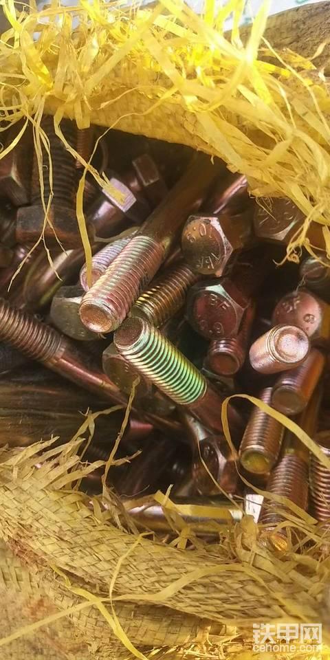 全新組裝挖機螺絲3元一斤,183064542