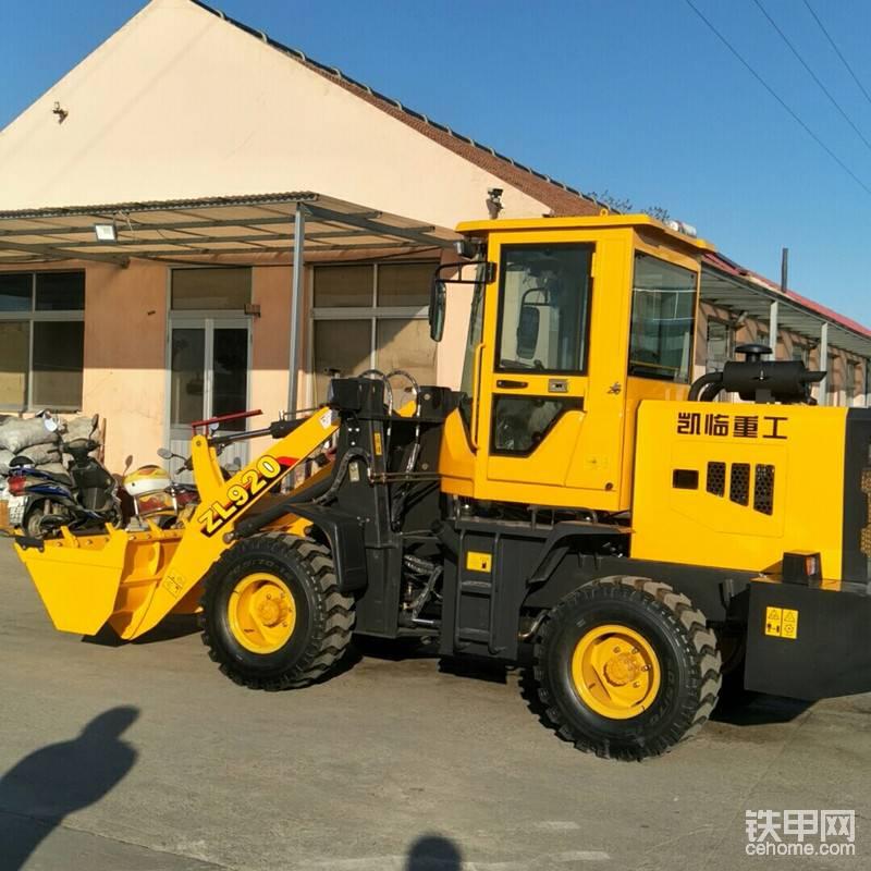 凯临重工沙厂用铲车 宁化县沙厂用铲车价格表帖子图片