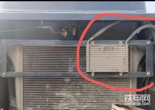 住友360-5的柴油散热器安装修理难度大吗??配件贵吗?