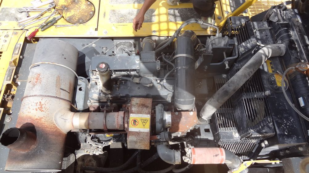 【维修记】挖掘机常见全车动作慢,无力简单处理方法
