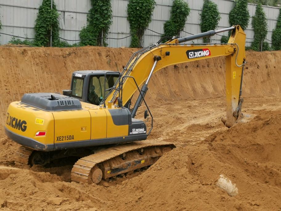 【有奖直播】几经周折,终于要去新郑看徐工215新款挖机