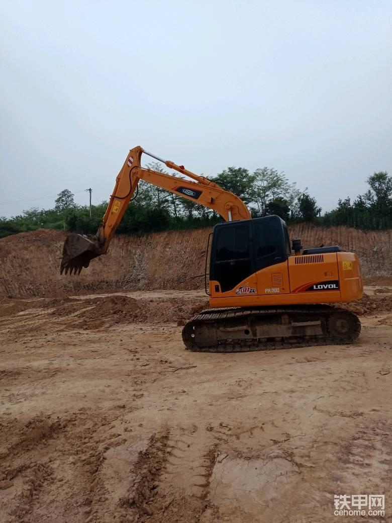 雷沃170挖机使用感受帖子图片