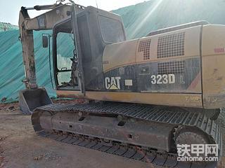 卡特323D挖掘机不能起动维修分享