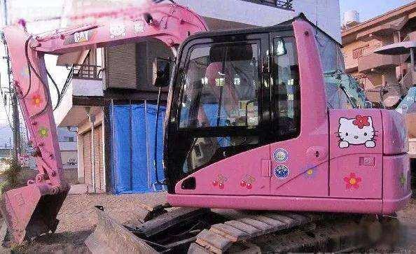 为啥开挖机的女的这么少?太难了