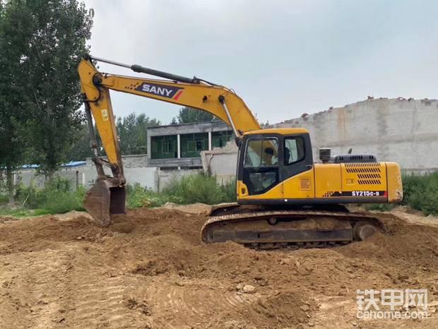极品三一SY215-9挖掘机 9成新便宜出帖子图片