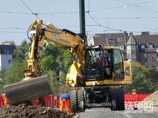 德国🇩🇪靓机,利勃海尔A922rail轮式轨道挖掘机