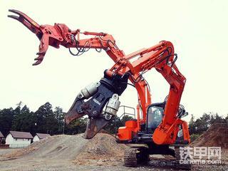 日本🇯🇵靓机,日立双臂怪物ZX135TF