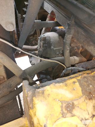 洛建14吨单钢轮压路机27岁使用报告