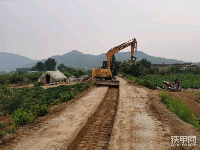 【三一国产力量】人生第1台挖机,三一SY75C使用感受