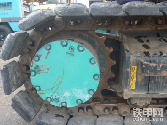 驱动轮补强设计。