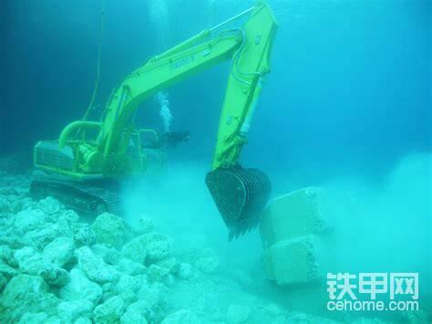 虽然是水下机械,但力量、协调性还是体现了日本制造的威力。