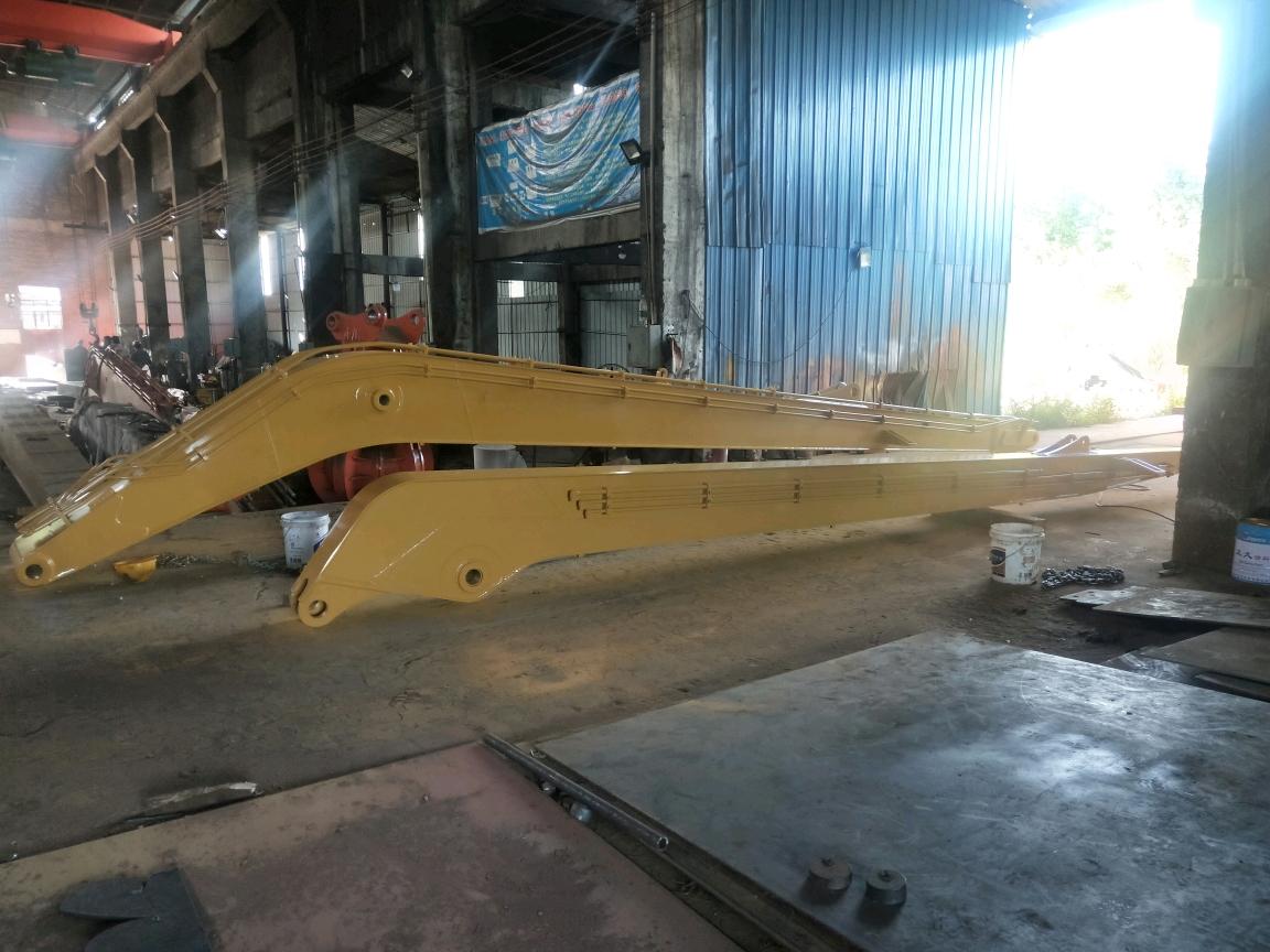 卡特320-19米加长臂收工 特殊加长臂