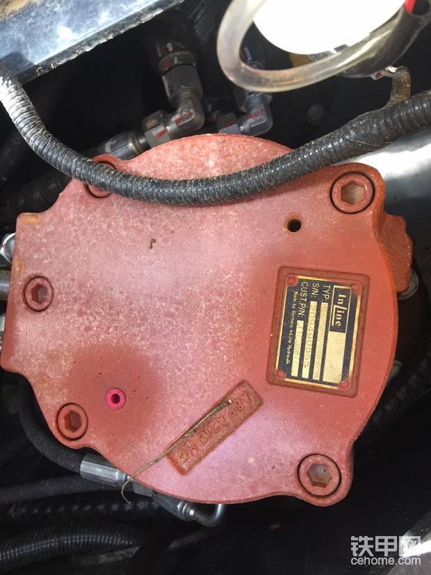红彤彤的转盘泵德国英莱液压制造