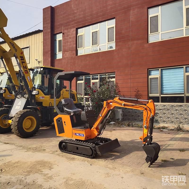 小工程使用微挖10小型挖掘机小型挖掘机价格可更换各种属具-帖子图片
