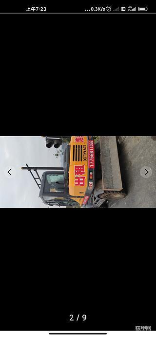 75轮式挖机出租